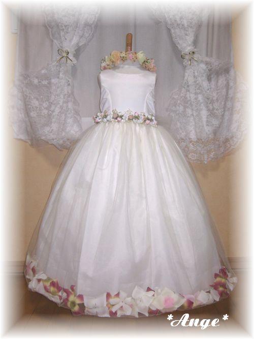 ec7ac029040a7 Ange定番ドレス 80cm~140cmまで ...