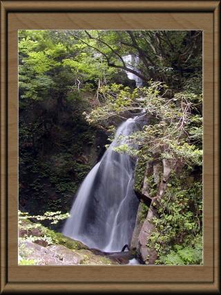 福山不動滝(鳥取県三朝町)