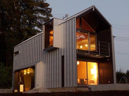 画像 ガルバリウム鋼板 外壁の画像集メリット 屋根材 外観 リフォーム